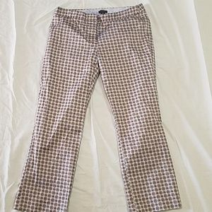 J. Crew Capri City Fit Pants